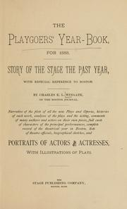 The playgoers' year-book, for 1888 by Charles E. L. Wingate
