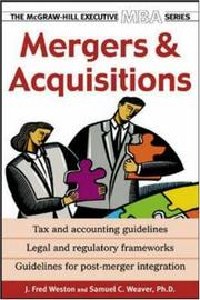 Cover of: Mergers & Acquisitions | J. Fred Weston