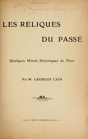 Cover of: [Papers on French art