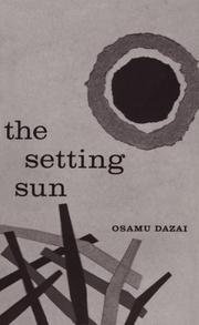Cover of: The setting sun