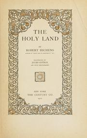 Cover of: The Holy Land