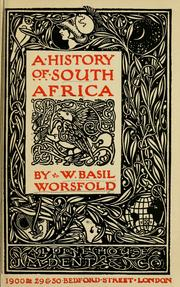 Cover of: A history of South Africa