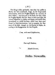 Cover of: Duke of Newcastle