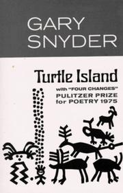 Cover of: Turtle Island: Poems from Turtle Island and Other Collections