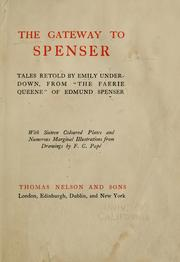 Cover of: The gateway to Spenser