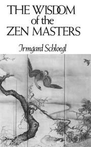 Cover of: The Wisdom of the Zen masters |