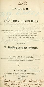Cover of: Harper's New-York class-book