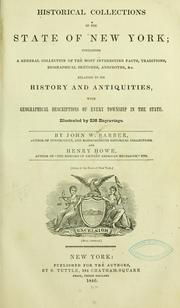 Cover of: Historical collections of the state of New York