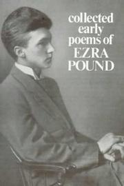 Cover of: Collected early poems of Ezra Pound