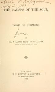 Cover of: The Causes of the Soul