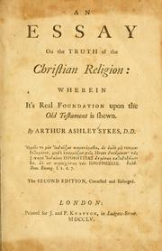Cover of: An essay on the truth of the Christian religion