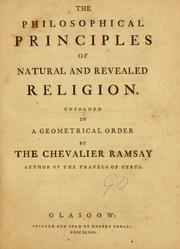 Cover of: The philosophical principles of natural and revealed religion