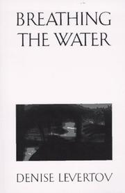 Cover of: Breathing the water