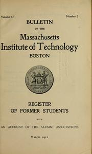 Cover of: Register of former students
