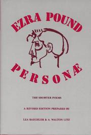 Cover of: Personae