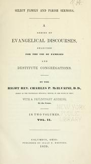 Cover of: Select family and parish sermons