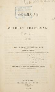 Cover of: Sermons chiefly practical