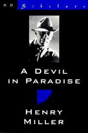Cover of: A devil in paradise