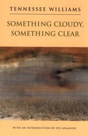 Cover of: Something cloudy, something clear