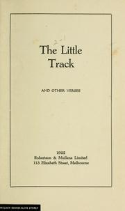 The little track, and other verses.