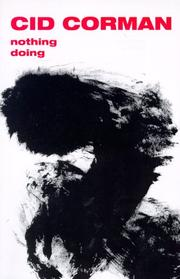 Cover of: Nothing doing