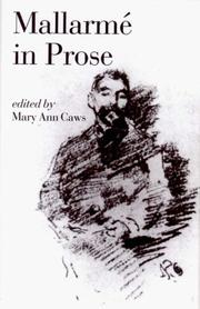 Cover of: Mallarmé in prose | StГ©phane MallarmГ©