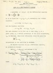 Cover of: Note on a heat transfer problem. | Eugene Isaacson