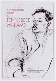Cover of: The collected poems of Tennessee Williams