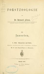 Cover of: Insecten