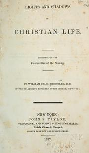 Cover of: Lights and shadows of Christian life