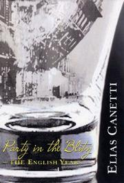 Cover of: Party in the Blitz