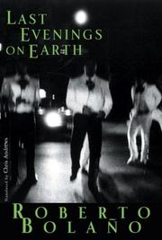Cover of: Last Evenings on Earth