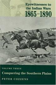 Cover of: Conquering the Southern Plains (Eyewitnesses to the Indian Wars, 1865-1890)