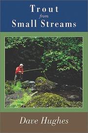 Cover of: Trout from Small Streams