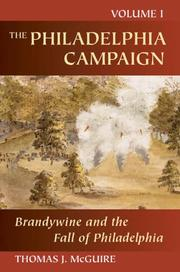 Cover of: The Philadelphia Campaign: Volume One