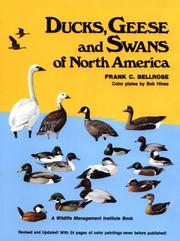 Cover of: Ducks, geese & swans of North America: a completely new and expanded version of the classic work by F. H. Kortright