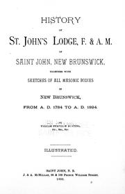Cover of: History of St. John