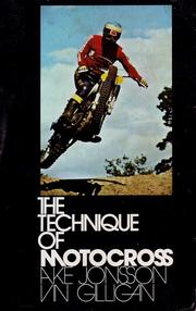 Cover of: The Technique of Motocross |