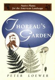 Cover of: Thoreau's garden