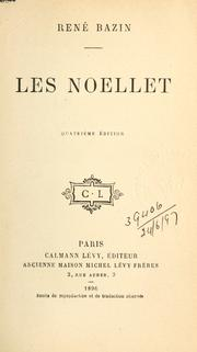 Cover of: Les Noellet