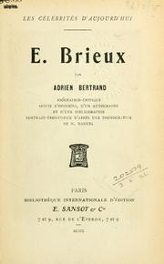 Cover of: E. Brieux