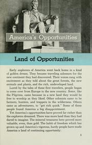 Americas Opportunities.
