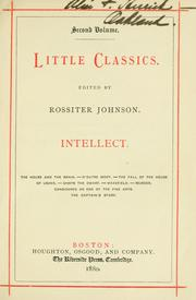 Cover of: Little classics