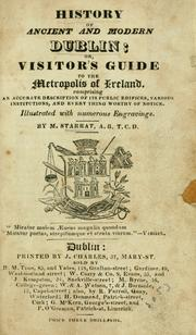Cover of: History of ancient and modern Dublin by M. Starrat