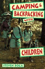 Cover of: Camping and backpacking with children