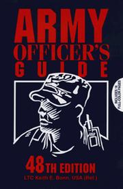 Cover of: Army Officer