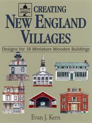 Cover of: Creating New England villages | Evan J. Kern