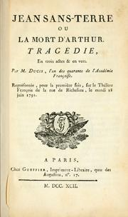 Cover of: Jean Sans-terre