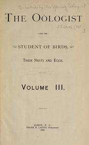 Cover of: Ornithologist and oist. |