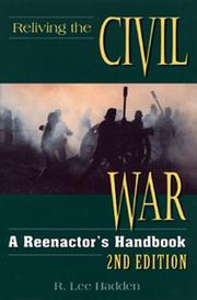 Cover of: Reliving the Civil War